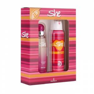 She Is Fun Women Edt 50 Ml + Deodorant 150 Ml Parfüm Set