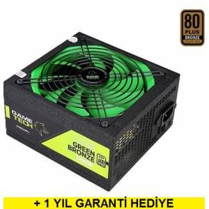 Gametech GTP-600 600W 80 Plus Bronze Power Supply PC Güç Kaynağı