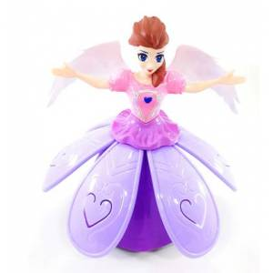DANCE PRINCESS  KANATLI PİLLİ BALERIN BEBEK