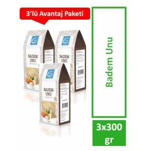 The LifeCo Badem Unu 300gr - 3'lü Paket