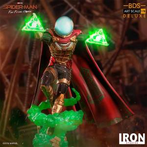 Iron Studios - Marvel Spider Man : Far From Home - Mysterio BDS Deluxe Heykel Figür