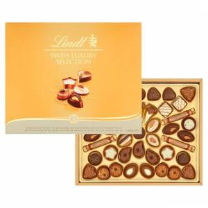 Lindt Swiss Luxury Selection 230g - 037466049670
