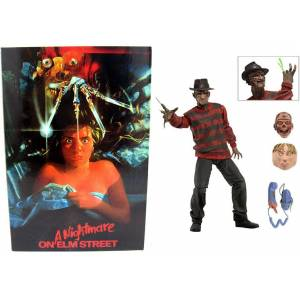 NECA - Nightmare On Elm Street - Freddy Krueger Ultimate Deluxe - Action Figür