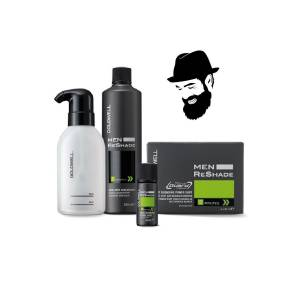 Goldwell 5CA Men Reshade 4X20ml + Oksidan Losyon 250ml