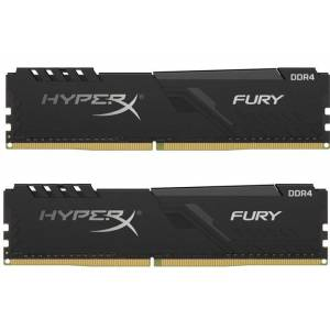 Kingston DDR4 16GB(2x8GB) 3200MHz HyperX Fury Bellek Ram (HX432C16FB3K2/16)