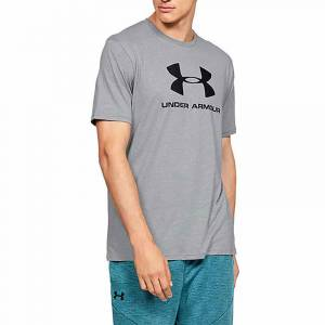 Under Armour Sportstyle Logo T-Shirt Gri SMALL