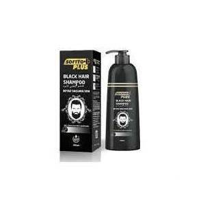 SOFTTO PLUS BLACK HAIR SHAMPOO SİYAHLAŞTIRICI ŞAMPUAN 350ML