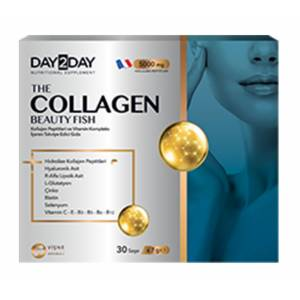 Day 2 Day The Collagen Beauty Fish 5000mg 30Saşe X 7g SKT:03/2023
