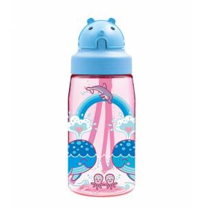 Laken  TRITAN BOTTLE 0,45 L. OBY CAP-LOVEWHALES Tek Renk-STD