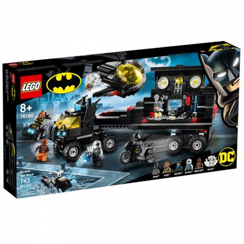 Lego Batman 76160  Mobile Bat Üssü  743 pcs  +8 yaş