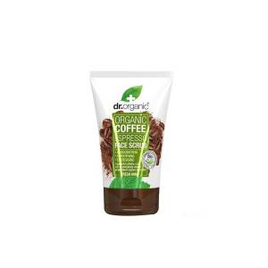Dr Organic Coffee Mint Face Scrub 125 ml