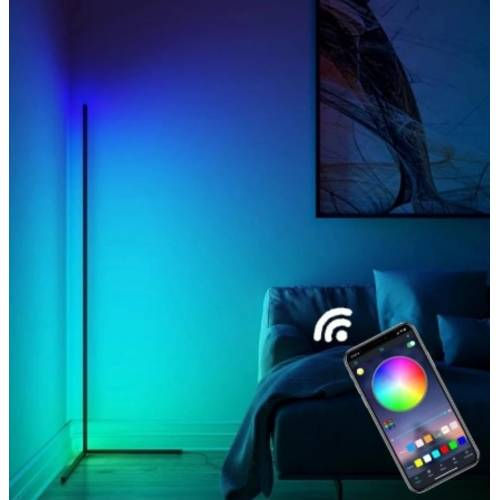 Led Dekoratif RGB Animasyonlu LED Lambader - RF wireless kumandalı