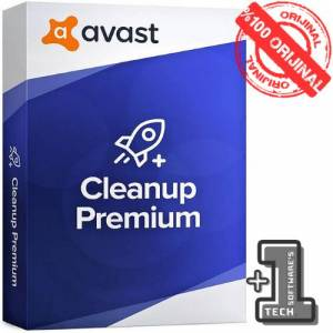 AVAST CLEANUP Premium 1 Pc 1 Yıl