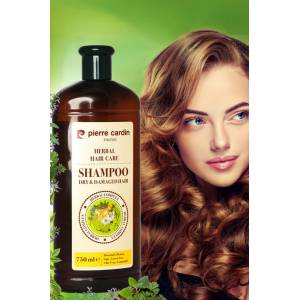 Pierre Cardin Herbal Shampoo For Dry & Damaged Hair 750 ML Bitkisel Şampuan ( Kuru ve Yıpranmış Saçl