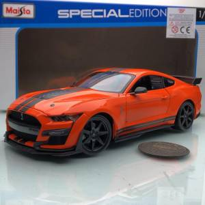 2020 Ford Mustang Shelby GT500 Orange 1:18 Ölçek Maisto Marka