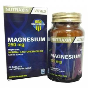 Nutraxin Magnesium 250 mg 60 Tablet