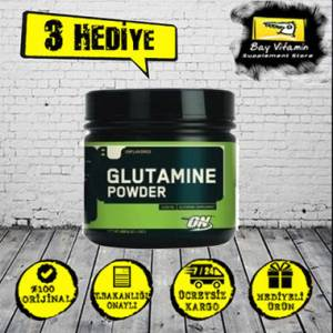 Optimum Glutamine Powder 630 gr 126 SERVİS