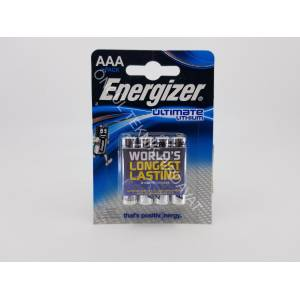 Energizer Ultimate Lithium AAA İNCE Pil 4 lü - 1.5 Volt Lityum
