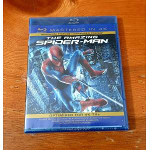 The Amazing Spider-Man Bluray Mastered 4k Andrew Garfield
