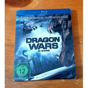 Dragon Wars D-War - Canavar Savaşları Steelbook Limited Edition Bluray Amanda Brooks 2007 Ambalajlı