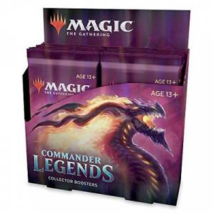 Magic: The Gathering Commander Legends Collector Booster Box  12 Booster Packs