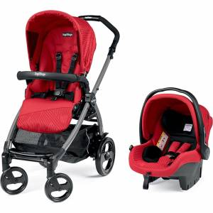 Peg Perego Book 51 Sportıvo Jet Travel Sistem Bebek Arabası Geo Red