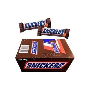 SNICKERS BAR 50GR 24 Ad