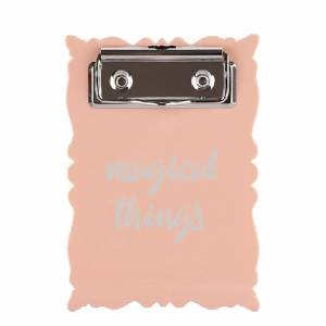 Pyrus Mini Pembe Clip Board