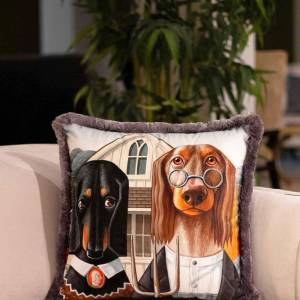 Dogs Cushion - EY240