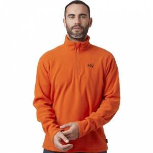 Helly Hansen Mount Erkek Polar Fleece Turuncu 300
