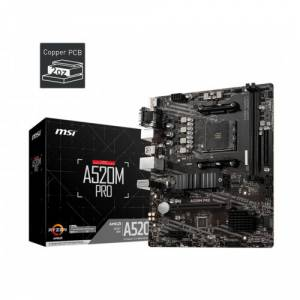 MSI A520M PRO AM4  DDR4 S+V GL AM4