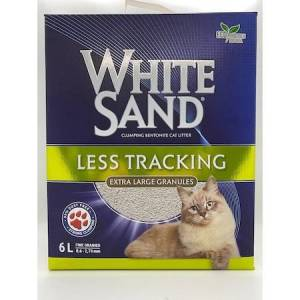 White Sand Less Tracking Cat Litter Hızlı Toplaklanan Kedi Kumu 6Lt