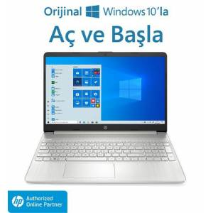 Hp 15S-EQ1032NT Amd Ryzen 3 3250U 8gb 256GB SSD 15.6 Windows 10 Home Taşınabilir Bilgisayar 27R82EA