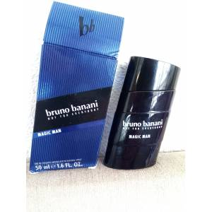 Bruno banani MAGİC MAN Edt 50ml erkek parfümü