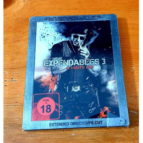 The Expendables 3 Bluray Steelbook Limited Edition (Ambalajında) 2014 Sylvester Stallone