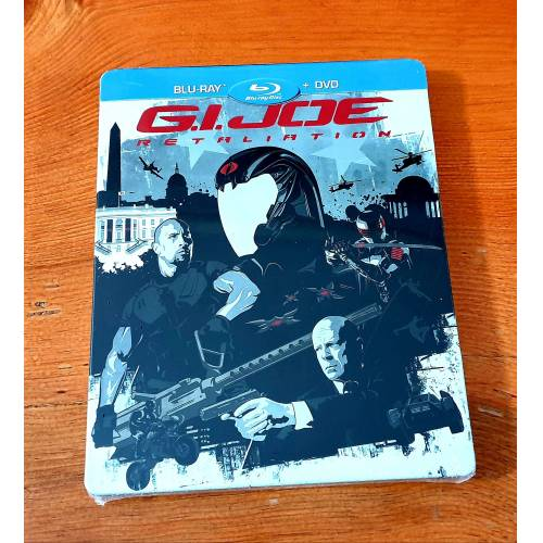 G.I. Joe: Misilleme Bluray Steelbook 2-Disk Limited Edition (Ambalajında) 2013 Bruce Willis