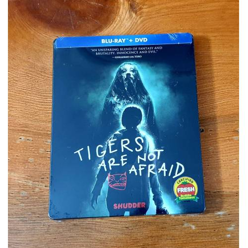 Tigers Are Not Afraid - Bluray 2-Disk Steelbook Limited Edition Ambalajlı 2017 Issa Lopez