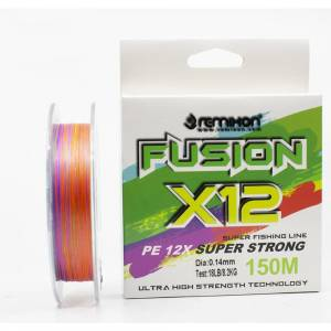 Remixon Fusion 150m X12 Multi Color İp Misina 0.27 MM