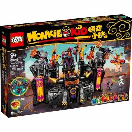 LEGO Monkie Kid 80016 The Flaming Foundry