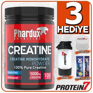 Phardux Creatine Monohydrate Powder 500gr - Aromasız