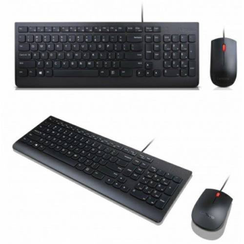 Lenovo Essential Combo Kablolu Klavye ve Mouse Set