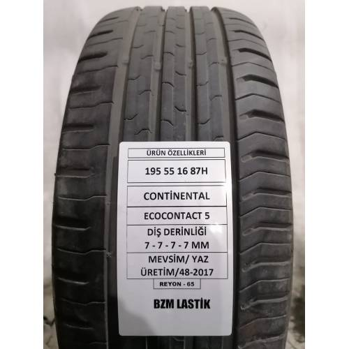 Continental ContiEcoContact5 195/55 R16 87H