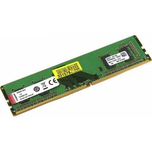Kıngston 4 Gb 2666Mhz Ddr4 Cl19 Pc Ram Kvr26N19S6 Pc Ram