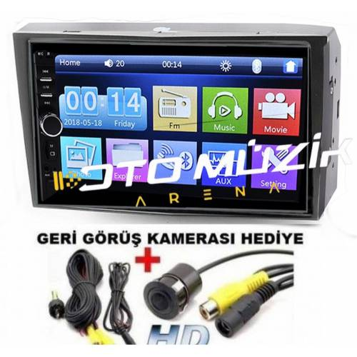 Opel Vectra- Astra- Corsa- Combo Uyumlu 7inç Full Touch Double Din Teyp
