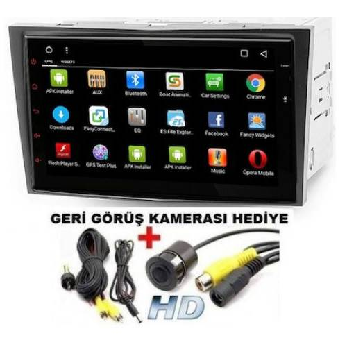 Opel Astra Vectra Corsa Combo Uyumlu Android 7inc Multimedya Full Touch Double Oto Teyp