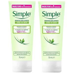 SIMPLE PURUZSUZLESTIRICI PEELING 75ML X2