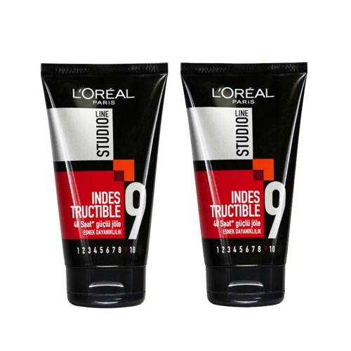 L'Oréal Paris Studio Line Indestructible Tüp Jöle 2'li Set