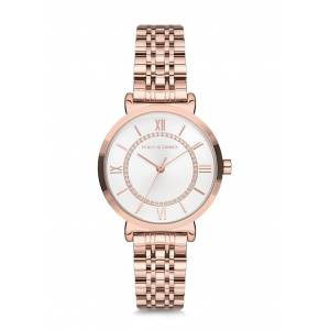 POLO EXCHANGE PX0065-06 ROSE GOLD BAYAN KOL SAATİ