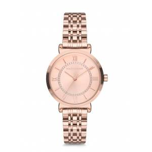 POLO EXCHANGE PX0065-04 ROSE GOLD KAPLAMA BAYAN KOL SAATİ