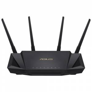 Asus RT-AX58U WiFi 6 DualBand-Gaming-Ai Mesh-AiProtection-Torrent-Bulut-DLNA-4G-VPN-Router-Access Po